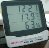 Thermal hygrometer with MIN - MAX of memory function